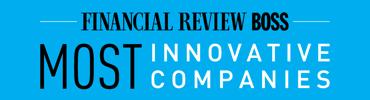 AFR103_2019 Most Innovative Companies Logo-Blue Cyan
